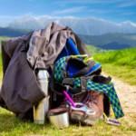 Einpacken ist alles! Packliste für ein Hüttenwochenende mit der Familie