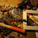 Mit Kastanien kinderleicht basteln: Ein Herbstkunstwerk