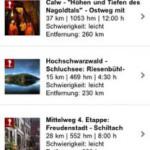 Mit der Schwarzwald-App wandert die ganze Familie