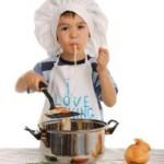 Spaghetti coureur des bois fürs Lagerfeuer