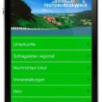 Per Handy eine Ferienwohnung und Erholung im Teutoburger Wald finden