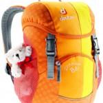 Der neue Deuter Schmusebär ein Rucksack den die Kinder lieben