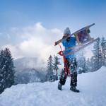 Urlaub in Berchtesgaden: Schlitteinander das Hirscheck runter rodeln
