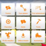 App nach draussen: Sport Scheck bietet eine kostenlose Outdoor App