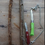 Für kleine Holzschnitzer: Wir basteln uns ein Holzschwert für den Fasching