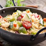 Couscous am Lagerfeuer können auch Kinder kochen
