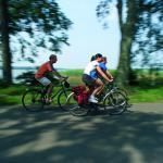 Strampeln für einen guten Zweck am Elberadweg in der Prignitz