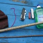 Hollunder Kanone: Basteln mit Naturmaterialien