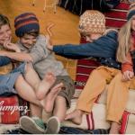 Maloja zieht Kinder mit Malumpaz an