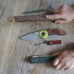 Schnitzen mit Kindern: Die kleinen Holzschnitzer basteln einen Holzlöffel!