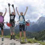 Hoch hinaus! Drei Top Klettersteige für die Familie