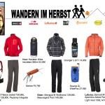 Herbst ist Zeit zum Wandern: Tolle Outdoorkleidung und Ausrüstung für die Eltern