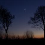 Venus liefert ein tolles Schauspiel am Sternenhimmel