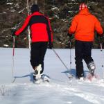 Drei mal Schneeschuhwandern mit Kindern