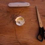 Basteln für Weihnachten: Ein Stern aus einem Teelicht
