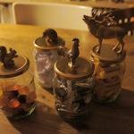 Basteln mit Kindern: Ein Geschenk-Glas