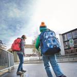 Schulranzen richtig tragen und bepacken