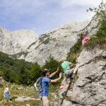 Klettern mit der Familie in Tirol: Aufi geht´s!
