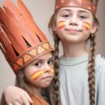 Indianer Schnitzeljagd am Kindergeburtstag