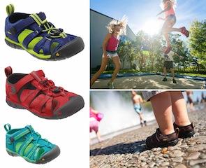 buy popular b7d6c 6c295 Keen Sandalen für Outdoor Kinder: Seacamp II CNX ...