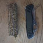 Holz Schnitzen: Ein Outdoor Teesieb