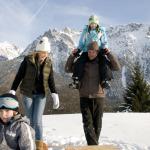 Karwendel im Winter: Mit Schneeschuhen zum Alpenschneehuhn und Hirsch