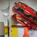 Einladungskarten und Glückwunschkarten mit einer Klorolle drucken