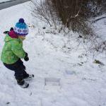 Ein toller Spaß im Winter: Schneemann Rallye