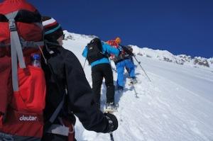 Wieder entdeckt: Der Ronachkopf in Zell am See-Kaprun ist nun die Spielwiese für Tourengeher und Schneeschuhwanderer. Foto (c) kinderoutdoor.de