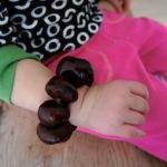 Kastanien: Wir basteln ein Armband