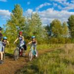 Packliste für eine Radtour mit Kindern am Wochenende