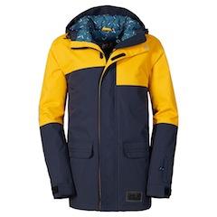 Skibekleidung von Jack Wolfskin spricht auch modebewusste Teens an.  Foto (c) Jack Wolfskin