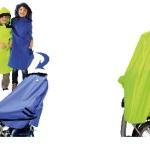 Regenponcho Lucky Cape 4in1 für kleine Radfahrer