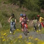 Radtouren in die Vulkaneifel: Fledermäuse, Vulkane und Burgen am Kinderradweg