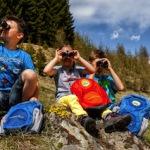 Familienferien mit Outdoor Abenteuern