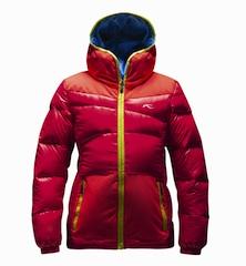So heiß kann Skibekleidung für Kinder sein. Kjus zeigt es mit dem girls arctic dowan jacket.  foto (c) kjus