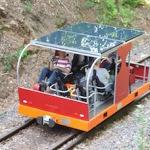 Immer der Sonne nach: Mit der Solar Draisine im Odenwald fahren