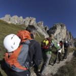 Klettern mit der App in Südtirol: Auch im Herbst geht es nach oben