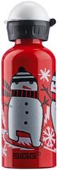 Sigg Flaschen mit dem Schneemann sorgen für gute Laune bei den Kindern.  foto (c) sigg