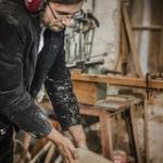 Holzschlitten: Besuch in der Werkstatt