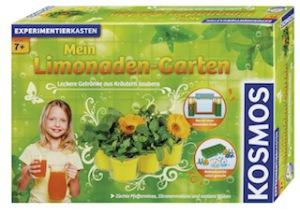 """Experimentierkasten """"Mein Limonaden-Garten"""". Die Kinder bauen sich Kräuter an um später sich ein Limo zu brauen.  foto (c) Kosmos"""