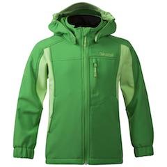 Das Reine Kids Jacket von Bergans ist eine Softshelljacke für die ganz kleinen Outdoorer. Foto (c) bergans