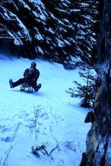 Im Schwarzwald über die Rodelbahnen brettern. So rasant kann der Winter sein.   foto (c) kinderoutdoor.de
