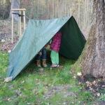 Zelt im Wald: Das Abenteuer ruft!