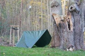 Ein einfaches Zelt ist das pure Abenteuer für Kinder.  Foto (c) Kinderoutdoor.de