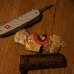 Holzschnitzerei für Kinder: Ein Adventsengel