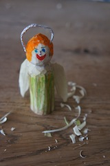 Fertig ist unsere Holzschnitzerei im Advent.  Foto (c) kinderoutdoor.de