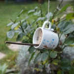 Vogelhäuschen ganz anders: Alle Tassen im Schrank?