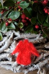 Fertig ist die schöne Weihnachtsbastelei!  Foto (c) Kinderoutdoor.de