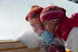 Über zu wenig Schnee braucht sich im Kleinwalstertal keiner Gedanken zu machen. Dieses Kertal ist ein Schneeloch.  Foto (c) kleinwalsertal tourismus eGen